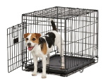 Life Stages ACE-424 Single Door Folding Dog Crate