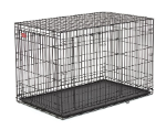 Life Stages ACE-448DD Double Door Folding Dog Crate