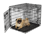 Ultima Pro Double Door Folding Dog Crate Model 724UP