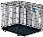 Life Stages Single Door Folding Dog Crate