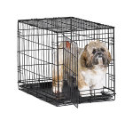 iCrate 1524 Single Door Folding Dog Crate