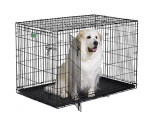 iCrate 1548DD Double Door Folding Dog Crate