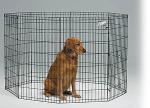 Midwest 556-42 Black E-Coat Exercise Pen