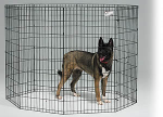 Midwest 558-48 Black E-Coat Exercise Pen