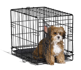 iCrate 1518 Single Door Folding Dog Crate