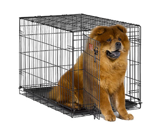 iCrate 1536 Single Door Folding Dog Crate