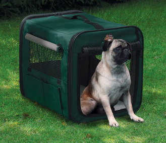 [DISCONTINUED] Canine Camper 1718CC2 Two Door Portable Tent Crate