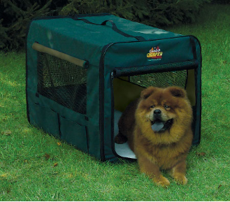 [DISCONTINUED] Canine Camper 1736CC2 Two Door Portable Tent Crate
