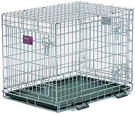 Life Stages LS-1630UL Three Door Folding Dog Crate