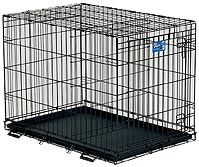 Life Stages 1636 Single Door Folding Dog Crate