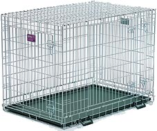 Life Stages LS-1642UL Three Door Folding Dog Crate