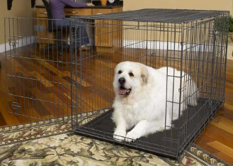 Select 1348TD Triple Door Folding Dog Crate