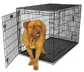 Ultima Pro Triple Door Folding Dog Crate 700 Series