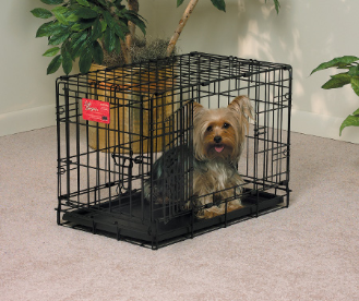 Life Stages 1622DD Double Door Folding Dog Crate
