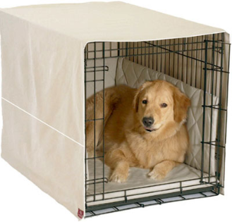 "Khaki Crate Cover 3-Piece: 48"" Crates"