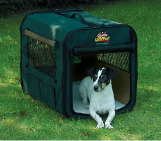 [DISCONTINUED] Canine Camper 1724CC2 Two Door Portable Tent Crate
