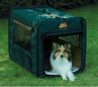 [DISCONTINUED] Canine Camper 1730CC2 Two Door Portable Tent Crate