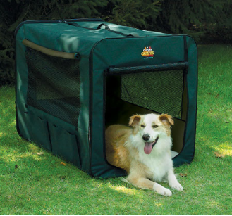 [DISCONTINUED] Canine Camper 1748CC2 Two Door Portable Tent Crate