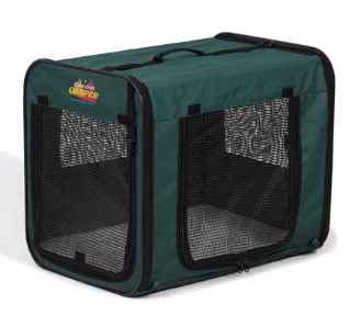 [DISCONTINUED] Canine Camper Two Door Portable Tent Crate