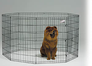 Midwest 554-36 Black E-Coat Exercise Pen