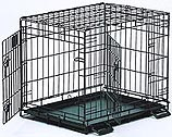 Life Stages 1624DD Double Door Folding Dog Crate