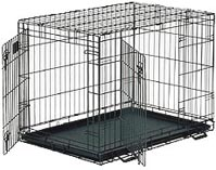 Life Stages Double Door Folding Dog Crate