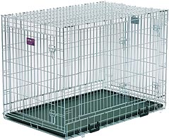 Life Stages LS-1648UL Three Door Folding Dog Crate