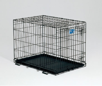 Life Stages 1624 Single Door Folding Dog Crate