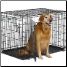iCrate 1542DD is suitable for dogs 71 - 90 lbs