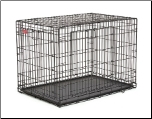 Life Stages ACE-442DD Double Door Folding Dog Crate