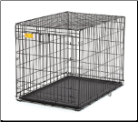 Life Stages ACE-442 Single Door Folding Dog Crate