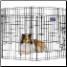 Eight Panel 30 Inch Tall Exercise Pen With Door