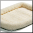 Quiet Time Bed Natural Fleece