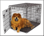 Ultima Pro Double Door Folding Dog Crate Model 736UP