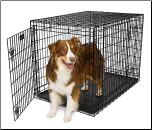 Ultima Pro Double Door Folding Dog Crate Model 742UP