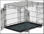 Life Stages 1636DD Double Door Folding Dog Crate