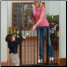 KidCo G1201 Xtra Tall & Wide Auto Close Gateway in black