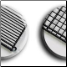 "Available With ½"" Wide Slots, or 1"" Square Pattern Floor Grids"