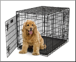 Ultima Pro Double Door Folding Dog Crate Model 730UP