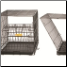 Life Stages ACE Fold & Carry Crates are easy to unfold for use - easy to fold for travel!
