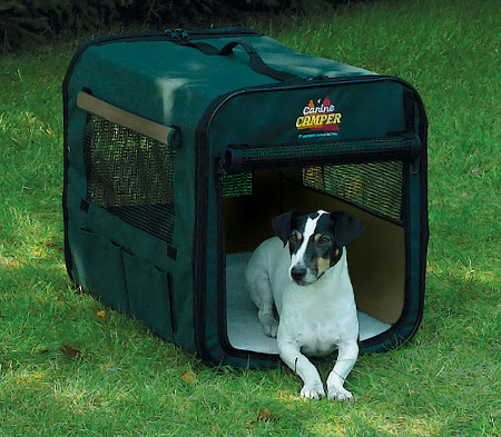 [DISCONTINUED] Canine C&er 1724CC2 Two Door Portable Tent Crate & Midwest Canine Camper 1724CC2 Two Door Portable Tent Crate 25