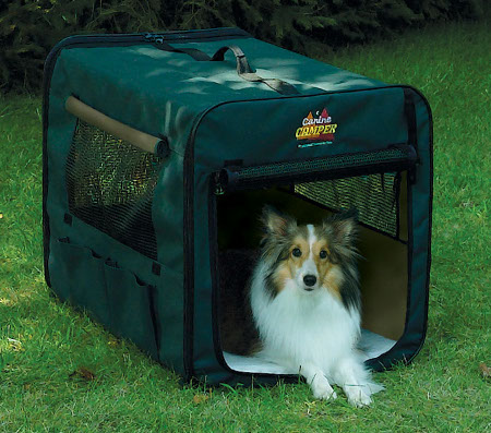 Midwest Canine Camper 1730cc2 Two Door Portable Tent Crate
