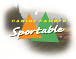 Canine Camper Sportable Logo