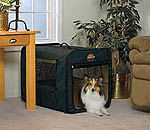 Midwest Canine Camper 1724cc2 Two Door Portable Tent Crate