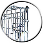 54 Inch Dog Crate Drop Pin Corner