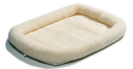 Midwest Quite Time Bed Natural Fleece