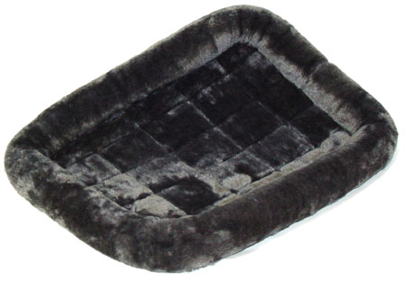 Midwest Quite Time Bed Plush Gray