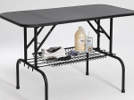 36 Inch Grooming Table Models Have Available Shelf (Optional)