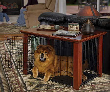 model 360clfhc heritage series hardwood crate cover - Decorative Dog Crates