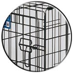 iCrate Double Door Crate Corner